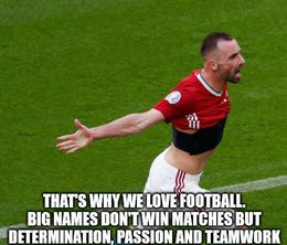 We love football memes